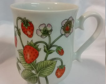 Strawberry Patch Mug