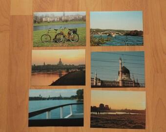 "Post card set ""Dresden Elbe"""