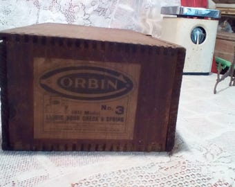 Orbin Wooden Shipping Crate