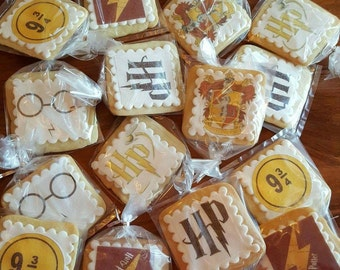 Harry Potter  sugar cookies, one dozen