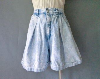 vintage denim jean shorts size S/M