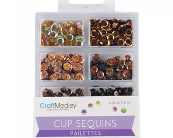 Cup sequins Sequins, Box of Chocolate code: NM-GC457-B