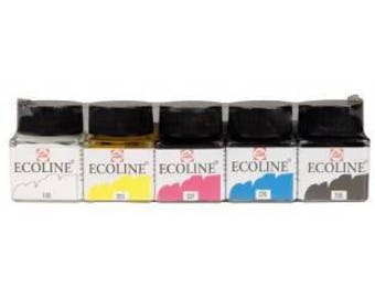 Ecoline Liquid Watercolors Set Of 5 30Ml