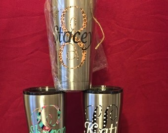 Personalized Stainless 20 oz. Tumbler