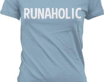Runaholic Juniors T-shirt, NOFO_00538