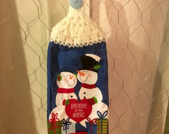 Snowmen Tea Towel