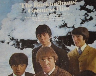 The Buckinghams Vinyl Record, Buckinghams Greatest Hits vintage vinyl record