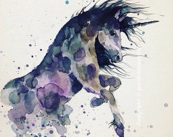 Madeleine Unicorn Print