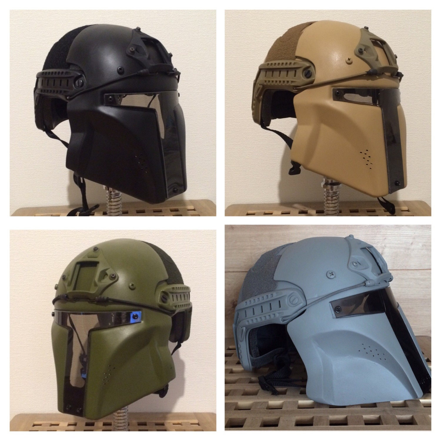 Mandalorian Airsoft Helmet Without Ears Protection