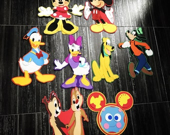 Mickey Mouse clubhouse centerpieces , Mickey Mouse figures