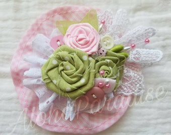 Sophie's Handmade Vintage Lace Flower Piece