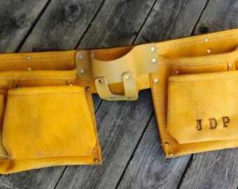 Kids Monogramed Tool Belt- Toy Carpenter's Tool Belt - Perfect for your Kiddo