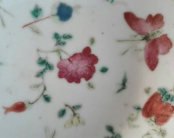 Small antique plate, China years 1700, antique china plate