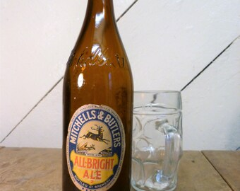Vintage M&B Albright Ale Bottle - collectable beer bottle (empty) (stock #6209)