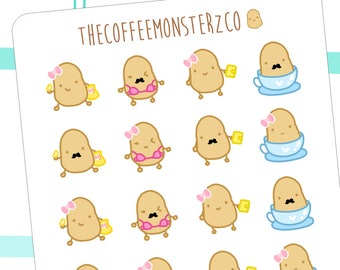 tater fun! - hand drawn planner stickers C052