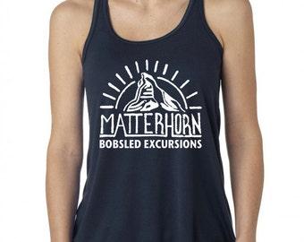 Disney Tank Disney Matterhorn bobsleds Shirt Disneyland Shirt Disneyland ride shirt Matthorn bobsled Excursions
