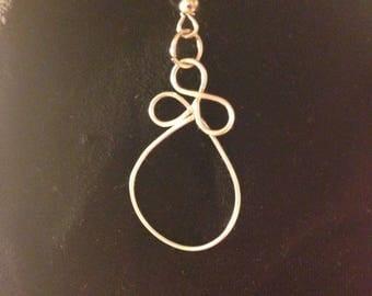Wire Loop Earrings