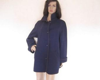 Vintage 60s Horst almond wool coat jacket jacket wool oversize