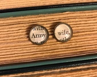 Army Wife Earrings