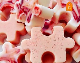 Pink Sugar soy wax melt. Handmade.