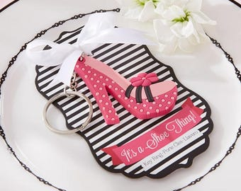 Shoe Key Chain Shower Favor