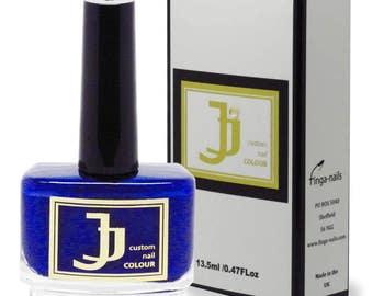 Luxury Nail Enamel by JJ - Midnight Blue Nail Polish