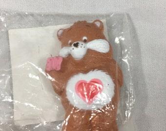 Vintage 1980s Tenderheart Bear Care Bear Magnet