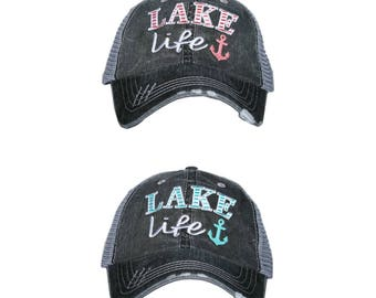 NEW design!!! LAKE Life ~ Trucker Cap