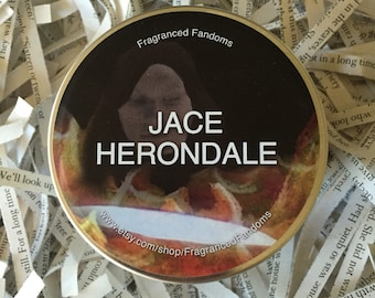 Jace Herondale | 8oz soy candle | The Mortal Instruments