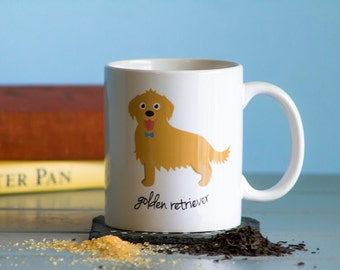 Golden Retriever Mug (boy)
