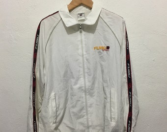 Vintage 90s Hip Hop Rap Apparel Fubu Windbreaker Jacket