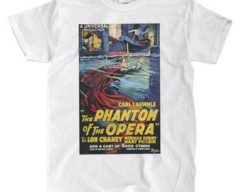 Phantom Of The Opera 1925 - White T-shirt