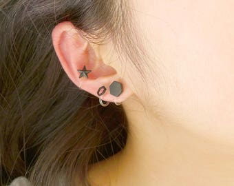 Reservation for the May, earings of ceramics, Little Jewerlley of ceramics