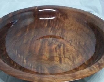 Walnut crotch bowl #45