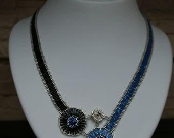 "Necklace ""Sapphire"""