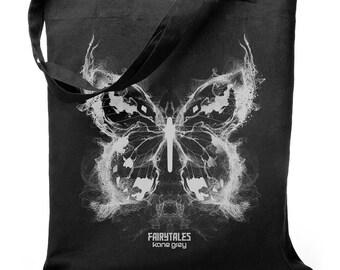 Butterfly - jute bag