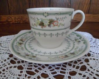 Royal Doulton Provencal Tea Cup and Saucer