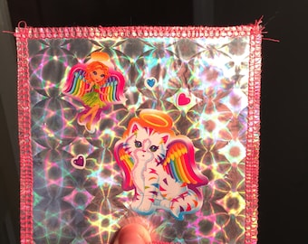 Holographic Lisa Frank Sticker Patches