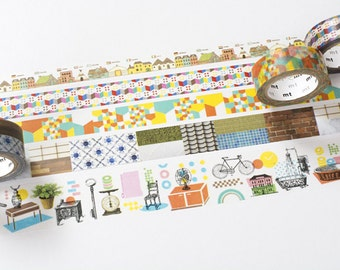 30% off! mt casa at SFT Masking Tapes Limited Edition SET Washi tapes