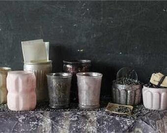 Tea Light Candle Holders - Votive - Pink - Set of 8
