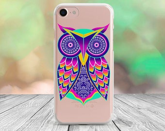 Owl iPhone 7 case clear iPhone 7 Plus case clear iPhone 6s case iPhone 6 case iPhone 5 case iPhone 5s case Samsung Note 3 case LG G4 case