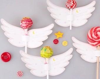 Set wings for lollipop