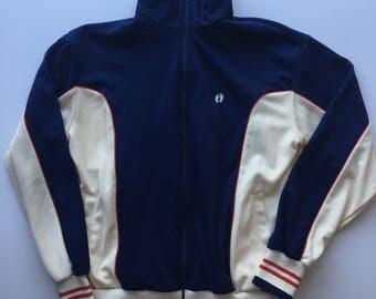 Vintage 80s Hang Ten Track jacket mens large