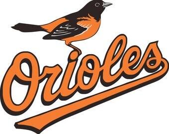 Baltimore Orioles Decal/Sticker