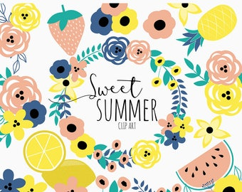 Sweet Summer Time Clip Art
