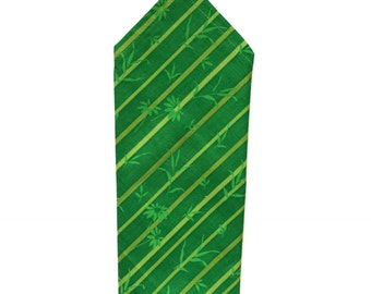 Tropical Green Pocket Square