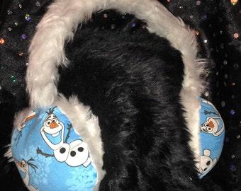 Disney Frozen olaf ear muffs / ear warmers * *