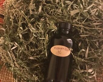 Mugwort Herbal Oil 4.oz