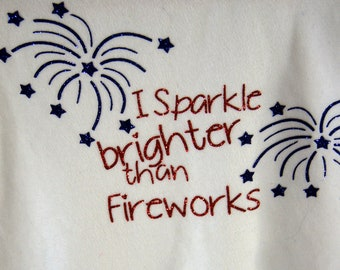 Fourth of July Bodysuit or T-Shirt