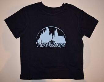 Harry Potter Hogwarts disney logo tshirt toddlers, children,